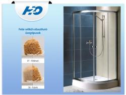 H2O Projecta 90x90 cm íves