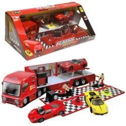 Bburago Ferrari kamion szett 1/43
