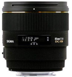 SIGMA 85mm f/1.4 EX DG HSM (Sony/Minolta)