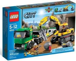 LEGO City - Exkavátor szállító (4203)