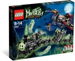 LEGO Monster Fighters - A kísértetvonat (9467)