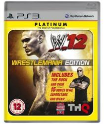 THQ WWE 12 [WrestleMania Edition] (PS3)