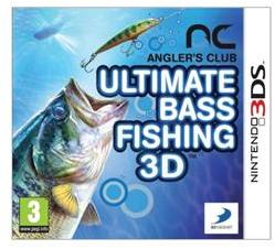 D3 Publisher Angler's Club Ultimate Bass Fishing 3D (3DS)