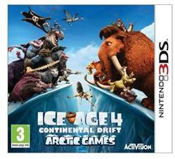Activision Ice Age 4 Continental Drift Arctic Games (3DS)