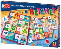 Keller&Mayer Játszva megismerjük a betűket