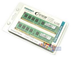 KINGMAX 4GB 2x2GB DDR3 1333MHz FLFE85K2