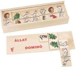 Fa állatos dominó