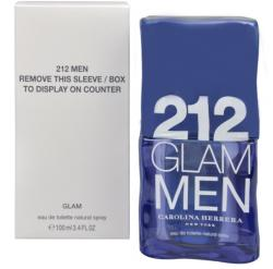 Carolina Herrera 212 Glam Men EDT 100ml