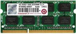 Transcend 4GB DDR3 1600MHz JM1600KSN-4G