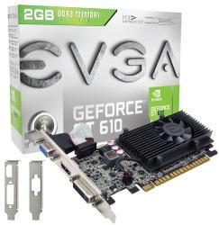 EVGA GeForce GT 610 2GB GDDR3 64bit PCIe (02G-P3-2619-KR)
