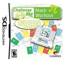 O-Games Challenge Me Maths Workout Ds