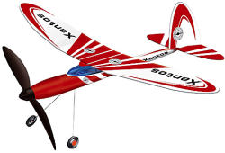 Günther Xantos felhúzható repülőmodell