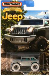 Mattel Matchbox Jeep Willys Concept kisautó