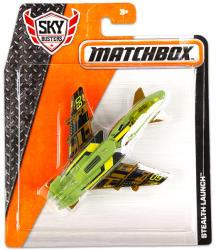 Mattel Matchbox Stealth Launch repülőgép