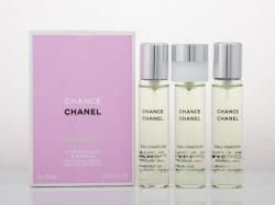 CHANEL Chance Eau Fraiche Twist & Spray (Refills) EDT 3x20ml