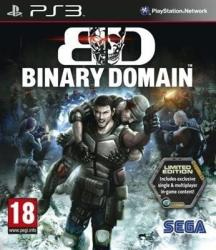 SEGA Binary Domain [Limited Edition] (PS3)