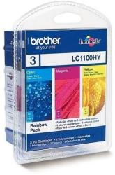 Brother LC1100HYRBWBP Rainbow Pack (C/M/Y)