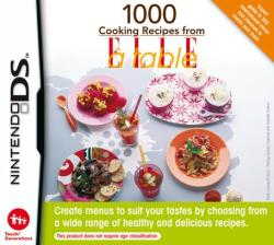 Nintendo 1000 Cooking Recipes from ELLE A Table (Nintendo DS)