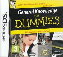 Anuman General Knowledge for Dummies (Nintendo DS)