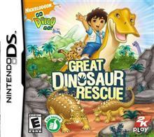 2K Games Go Diego Go Great Dinosaur Rescue Ds