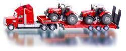 Siku Massey-Ferguson traktorok autószállító kamionnal
