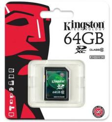 Kingston SDXC 64GB Class 10 SDX10V/64GB