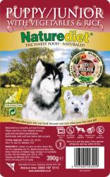 Naturediet Puppy/Junior 390g