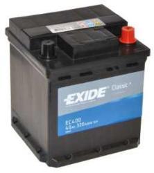 Exide Classic EC400 40Ah 320A jobb+ (EC400)