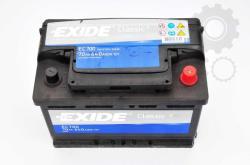 Exide Classic EC700 70Ah 640A jobb+ (EC700)