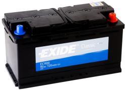 Exide Classic EC900 90Ah 720A jobb+ (EC900)