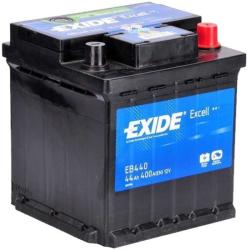Exide Excell 44Ah 400A right+ (EB440)