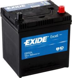 Exide Excell EB504 50Ah 360A jobb+ (EB504)