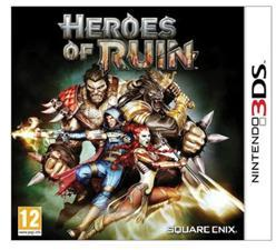 Square Enix Heroes of Ruin (3DS)