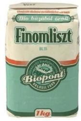Biopont Bio finom fehér búzaliszt (BL 55) 1kg
