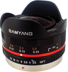 Samyang 7.5mm f/3.5 UMC Fish-Eye (MFT)