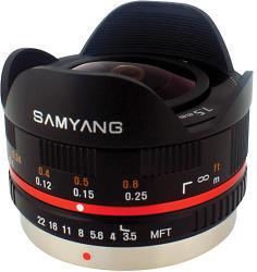 Samyang 7.5mm f/3.5 UMC Fish-Eye (MFT)