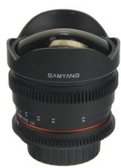 Samyang 8mm T3.8 Asp IF MC Fish-Eye CS VDSLR (Nikon)