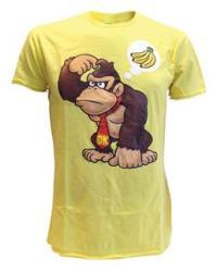 Bioworld Merchandising Nintendo Donkey Kong Wants Banana yellow, xlarge