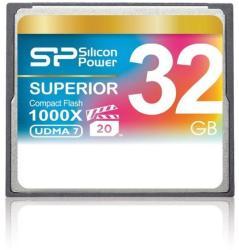 Silicon Power CompactFlash 32GB 1000x (CF) SP032GBCFC1K0V10