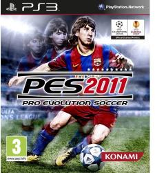Konami PES 2011 Pro Evolution Soccer (PS3)