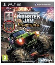 Activision Monster Jam Path of Destruction [Wheel Bundle] (PS3)