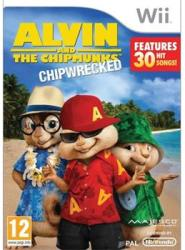 Majesco Alvin and the Chipmunks Chipwrecked (Wii)