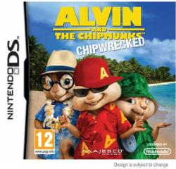 Majesco Alvin and the Chipmunks Chipwrecked (Nintendo DS)