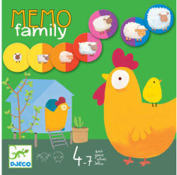 DJECO Mémo family