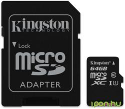 Kingston MicroSDXC 64GB Class 10 SDCX10/64GB