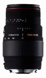 SIGMA 70-300mm f/4-5.6 APO DG Macro (Sony/Minolta)