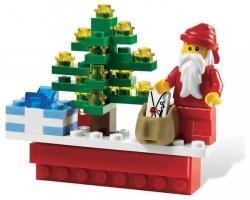 LEGO Karácsonyi mágnes 853353