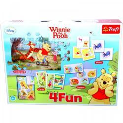 Trefl Micimackó és barátai - 4 Fun játékgyűjtemény