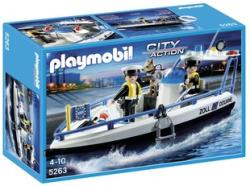 Playmobil Határőrcsónak (5263)