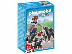 Playmobil Berni pásztor kutyacsalád (5214)